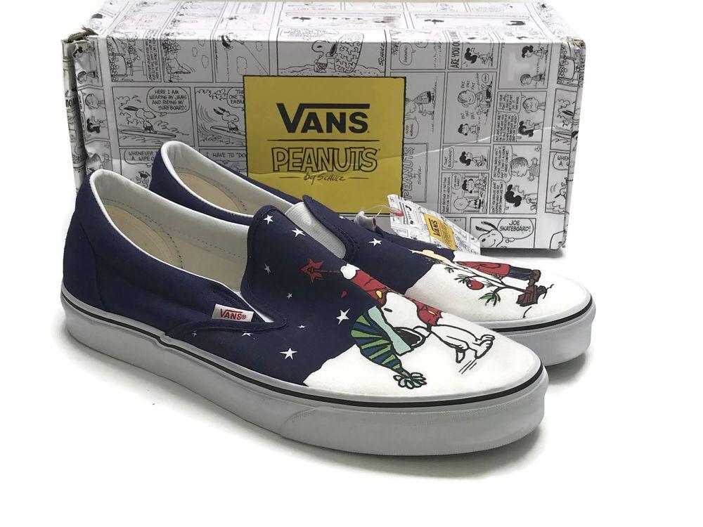 33db7dc8d5f Vans Charlie Brown Christmas Tree Snoopy The Peanuts Sneakers Athletic  Shoes  VANS  Athletic