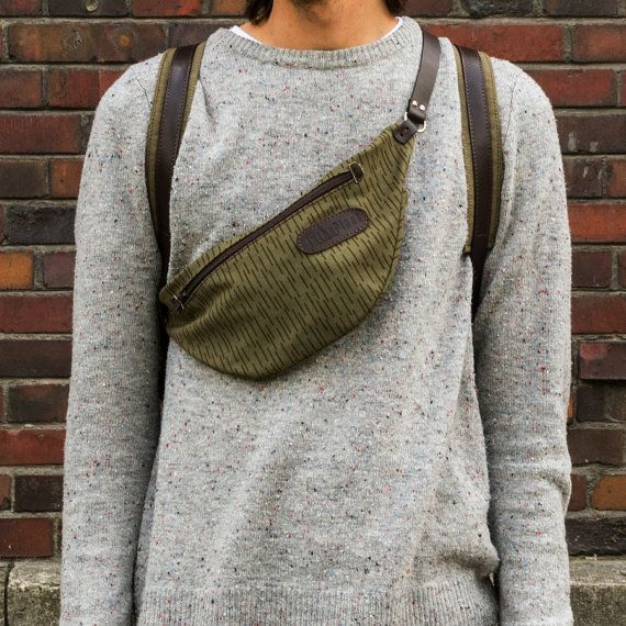 Waist bag remade by InThePinesStore on Etsy, $91.00
