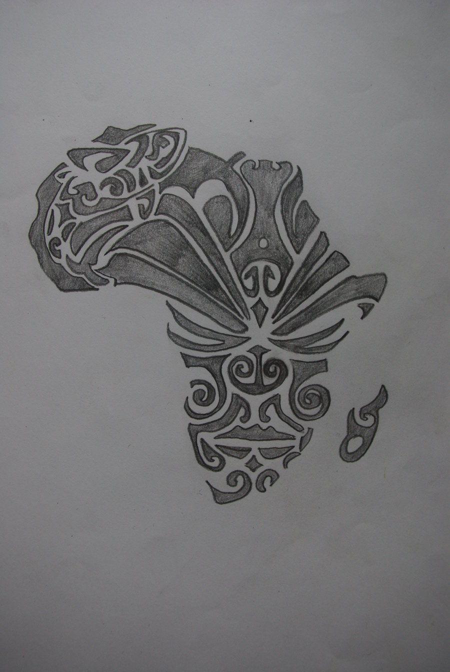 Maori Tattoo Love: Tattoo Design 2011 2012 Sinantattoo Africa Maori Love 1