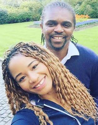 Welcome, It´s Silver Tuke Blog:: Cute Photos Of Kanu Nwankwo And His Wife Amara: