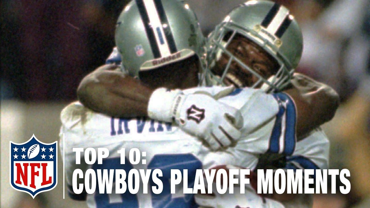 Top 10 Cowboys Playoff Moments of All Time NFL NOW (With