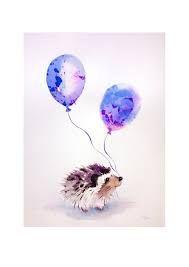 Resultado de imagen para watercolor illustration animals