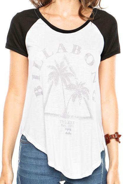 Camiseta Billabong Mark Branca  da5eace4a44
