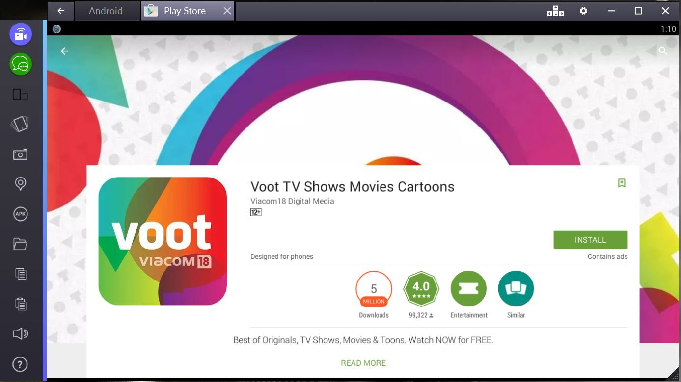Voot für PC Download Voot App Online (Windows 7, 8, 8.1