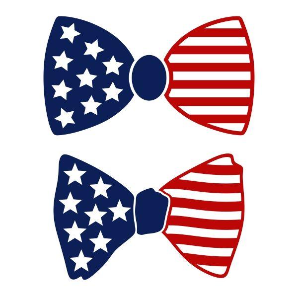 us flag bow tie cuttable design cut file vector clipart digital rh pinterest com Tuxedo Bow Tie Vector Bow Ties Clip Art