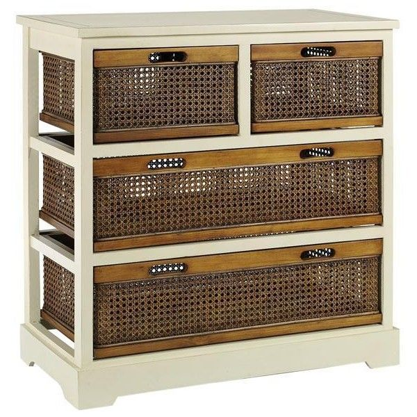 Normandy Double Chest Featuring Polyvore Home Furniture Storage