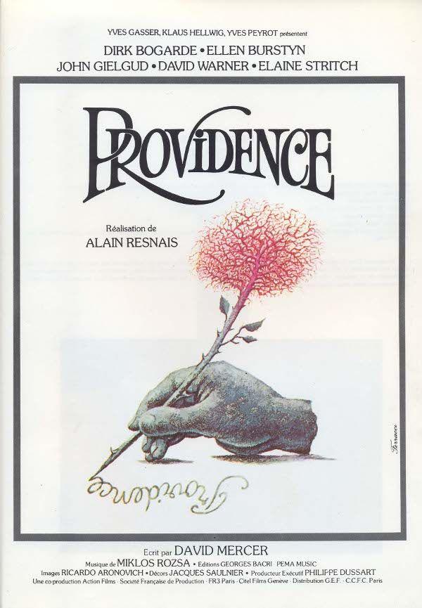 Le premier film que j'ai vu d'Alain Resnais, j'étais alors étudiant, c'était Providence. Un film étrange qui s'appuyait sur les images que nous avons tous de la &laquo…