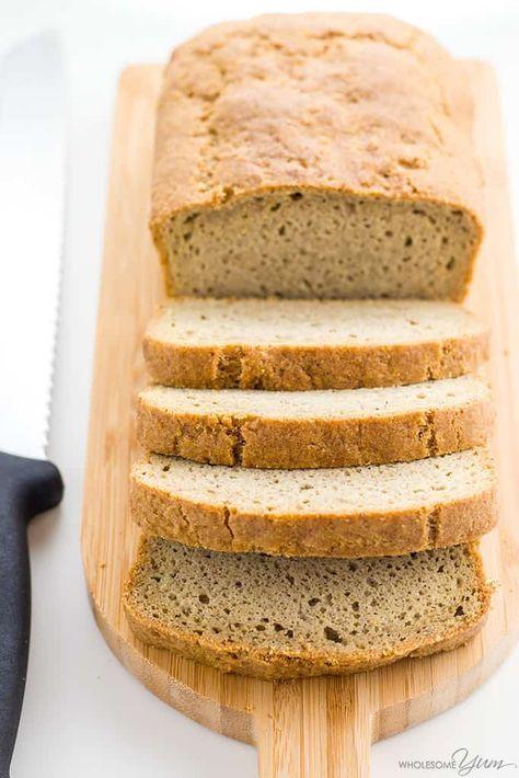 Low Carb Almond Flour Bread Almond Flour Psyllium Husk Powder
