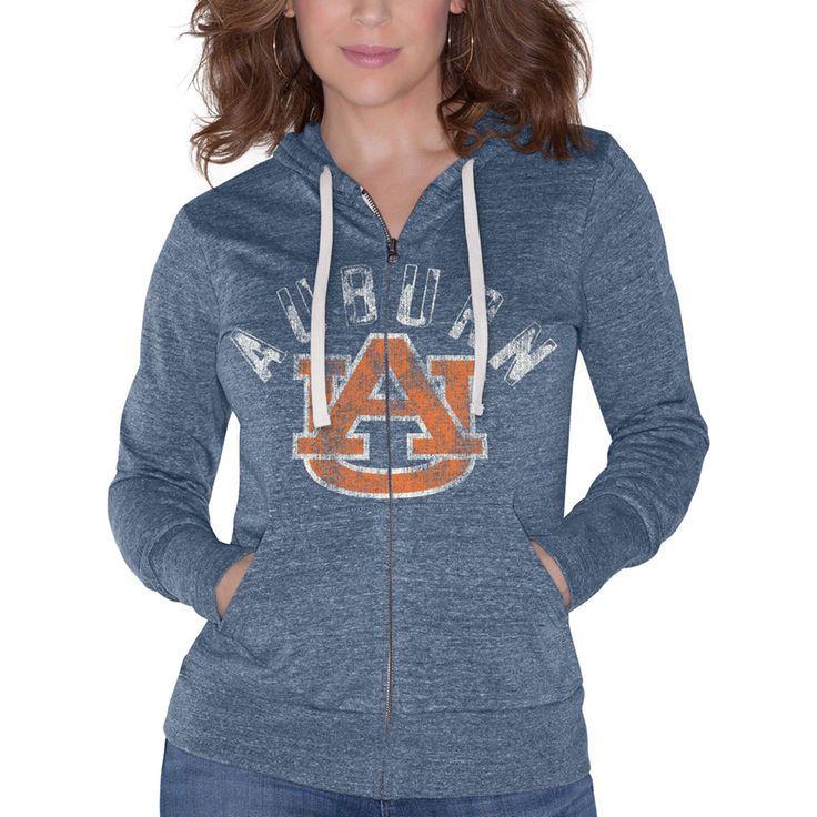 Auburn Tigers Touch by Alyssa Milano Women's Training Camp Full-Zip Hoodie - Navy - $49.99