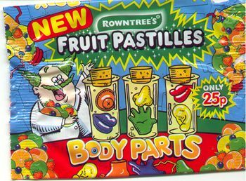 Image result for rowntrees body parts
