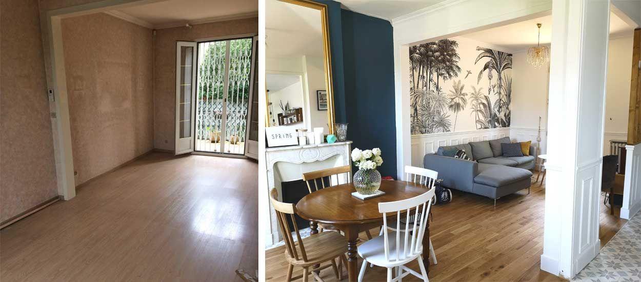 Avant apr s ils ont r nov une meuli re de 90 m2 pour - Renovation maison avant apres ...
