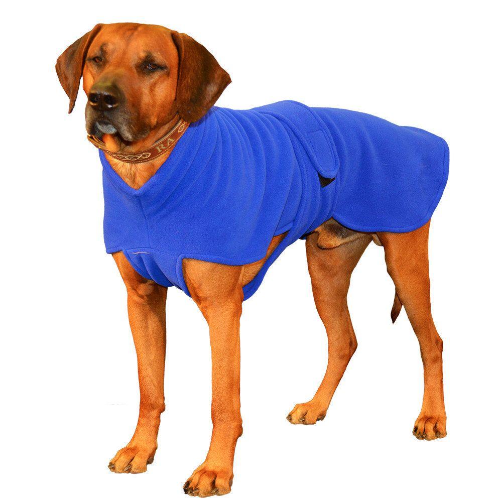 Ultra Fleece Dog Jacket, custom made dog coat of windpro fleece with ...