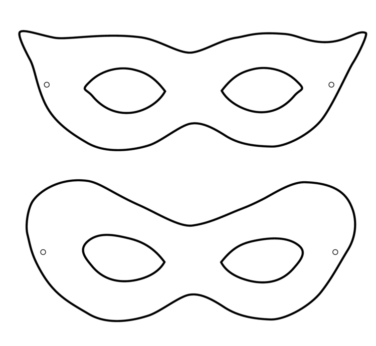 Photo of Making masks for children – 22 ideas and templates for printing …