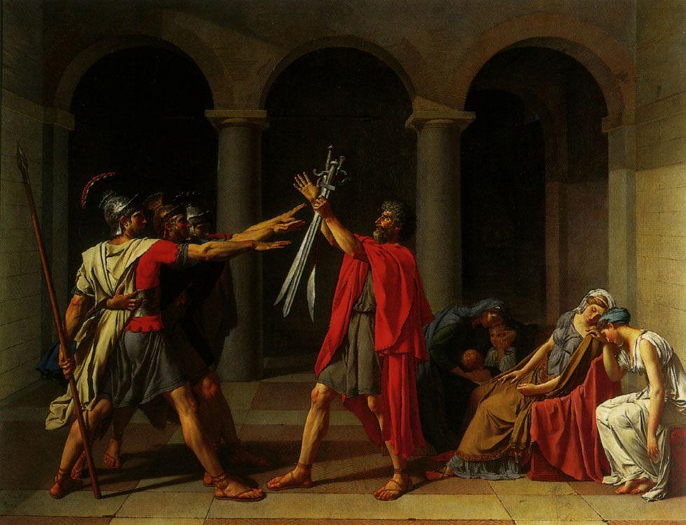 Le Neo Classicisme Http Www Histoiredelart Net Courants Le Neoclassicisme 8 Html Le Serment Des Horaces Histoire De L Art Neoclassicisme