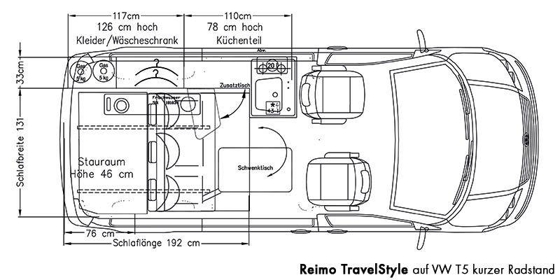 pin van m oi op campervan vw campingbus grundriss en vw t5. Black Bedroom Furniture Sets. Home Design Ideas