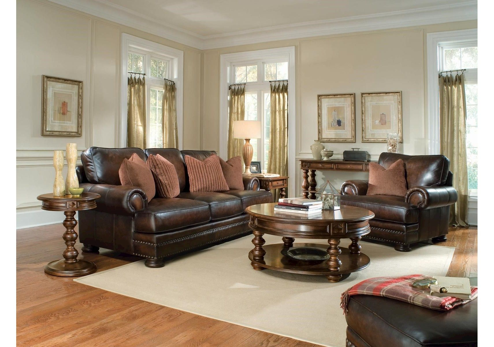 LOVE THIS SET Foster Living Room Bernhardt