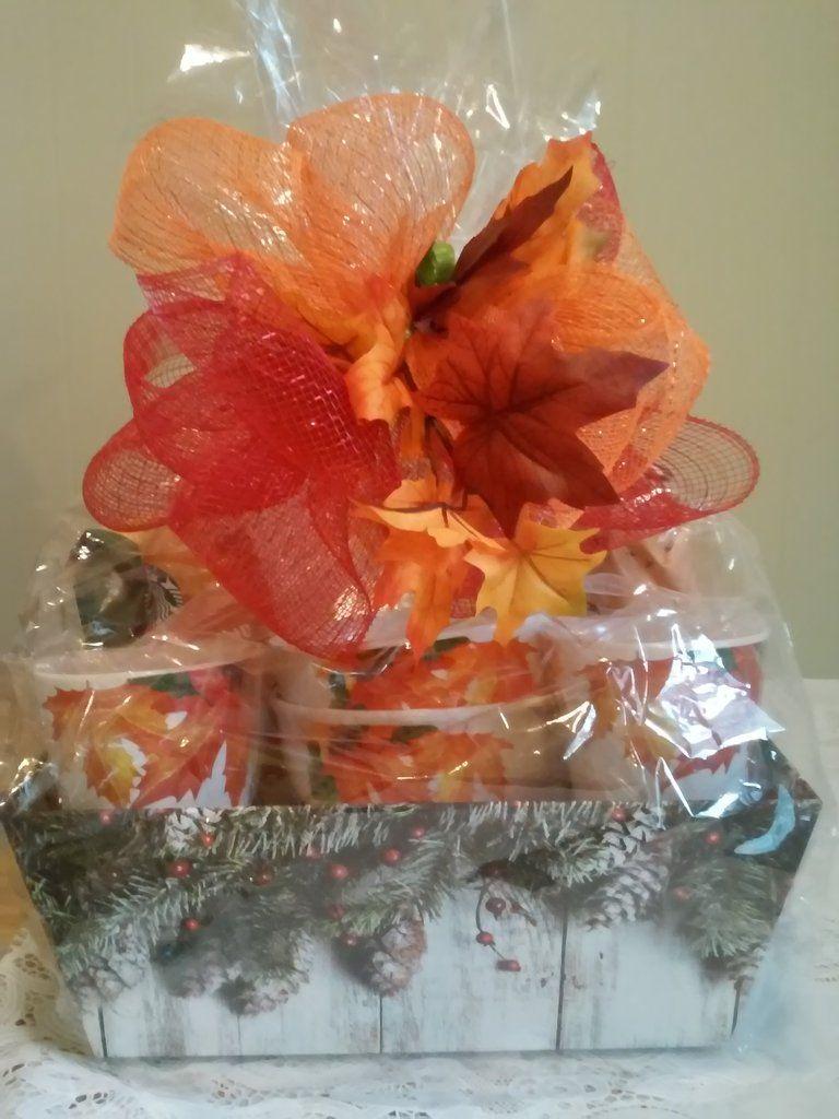 2 Piece Breakfast Pumpkin Coffee Gift Basket