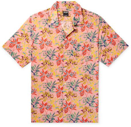 46793d5cb7a Todd Snyder + Liberty London Camp-Collar Floral-Print Cotton-Poplin Shirt