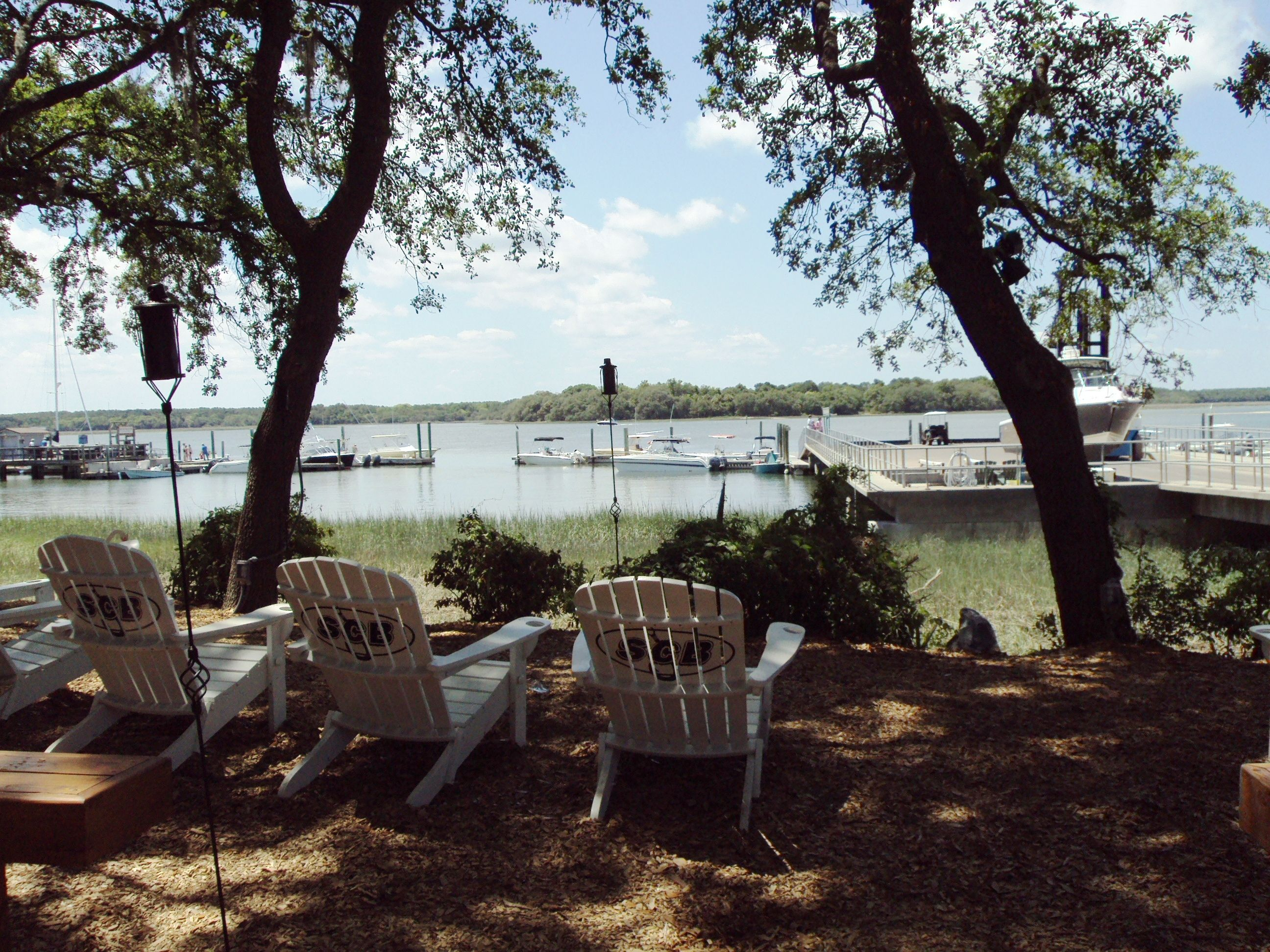 Another Waterfront View Behind Skull Creek Boathouse On Hilton Head Island Sc