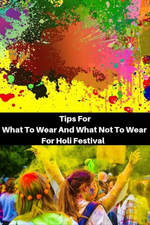 Tips For What To Wear And What Not To Wear This Holi Festival. Guide to Indian Festival Holi   Tips for Holi Festival India   What to wear and what not to wear during Holi festival in India   Holi festival in India   Festival of colours in India   #Festival #Holi #FestivalOfColors #India #IndianFestival #HoliFestival #IncredibleIndia #Tips #WhatToWear #india #india #holi #outfit #india