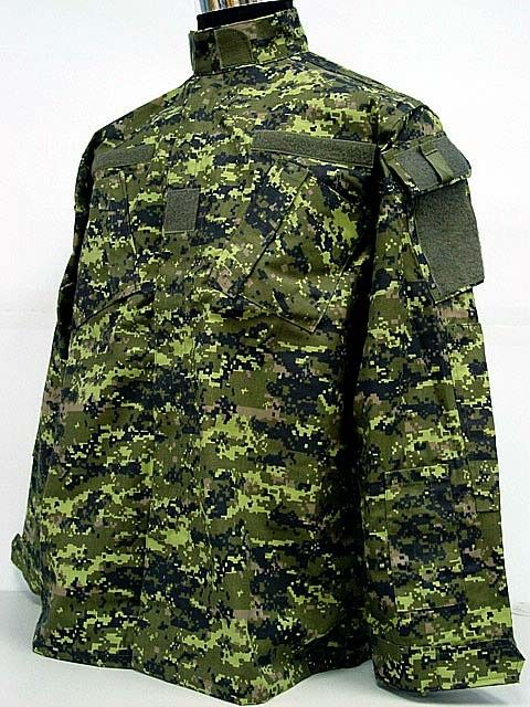 Canadian CADPAT Digital Camo Woodland BDU Uniform Set | MY