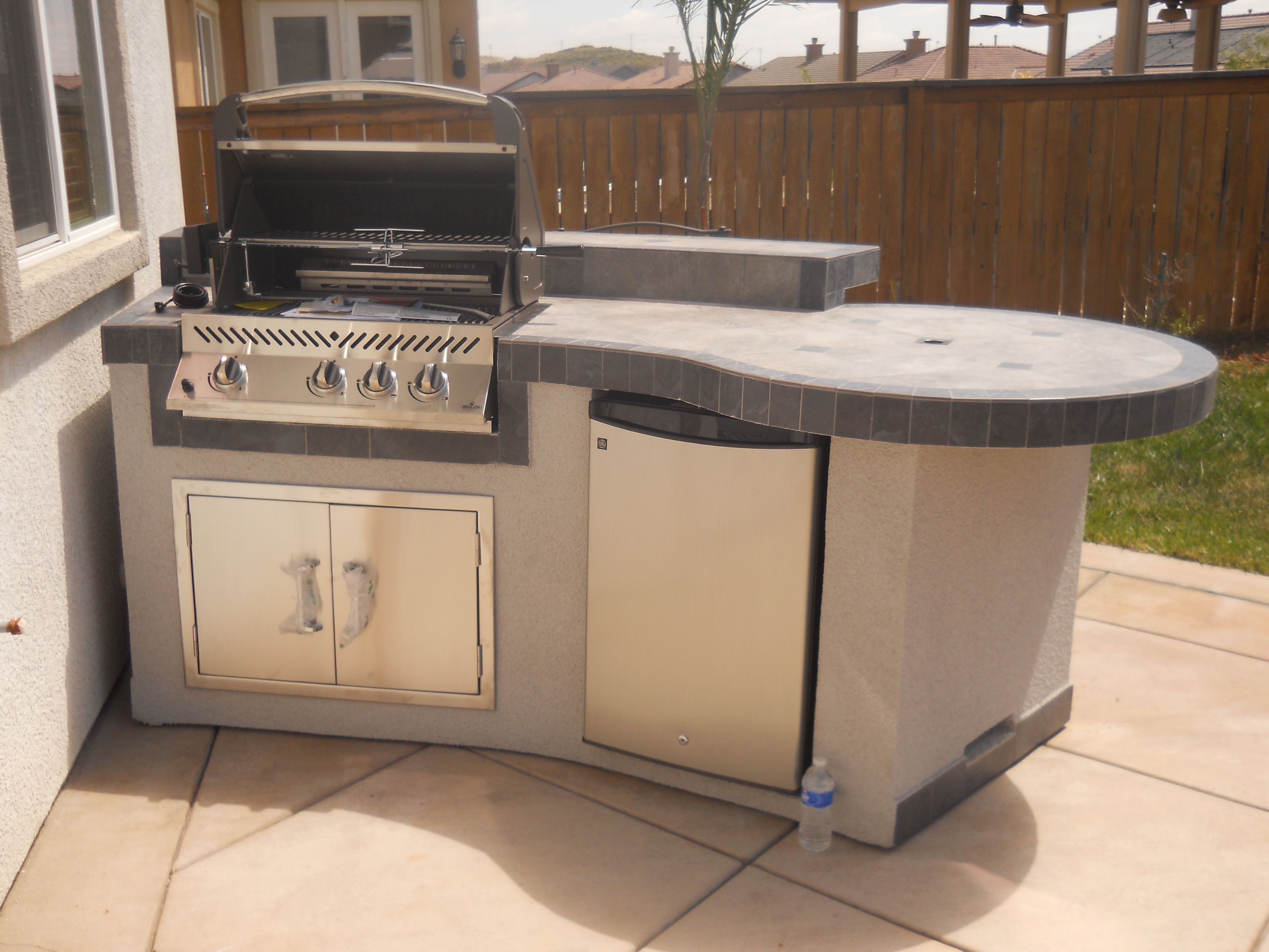 Custom Outdoor Kitchen We Make Any Size Island To Fit Your