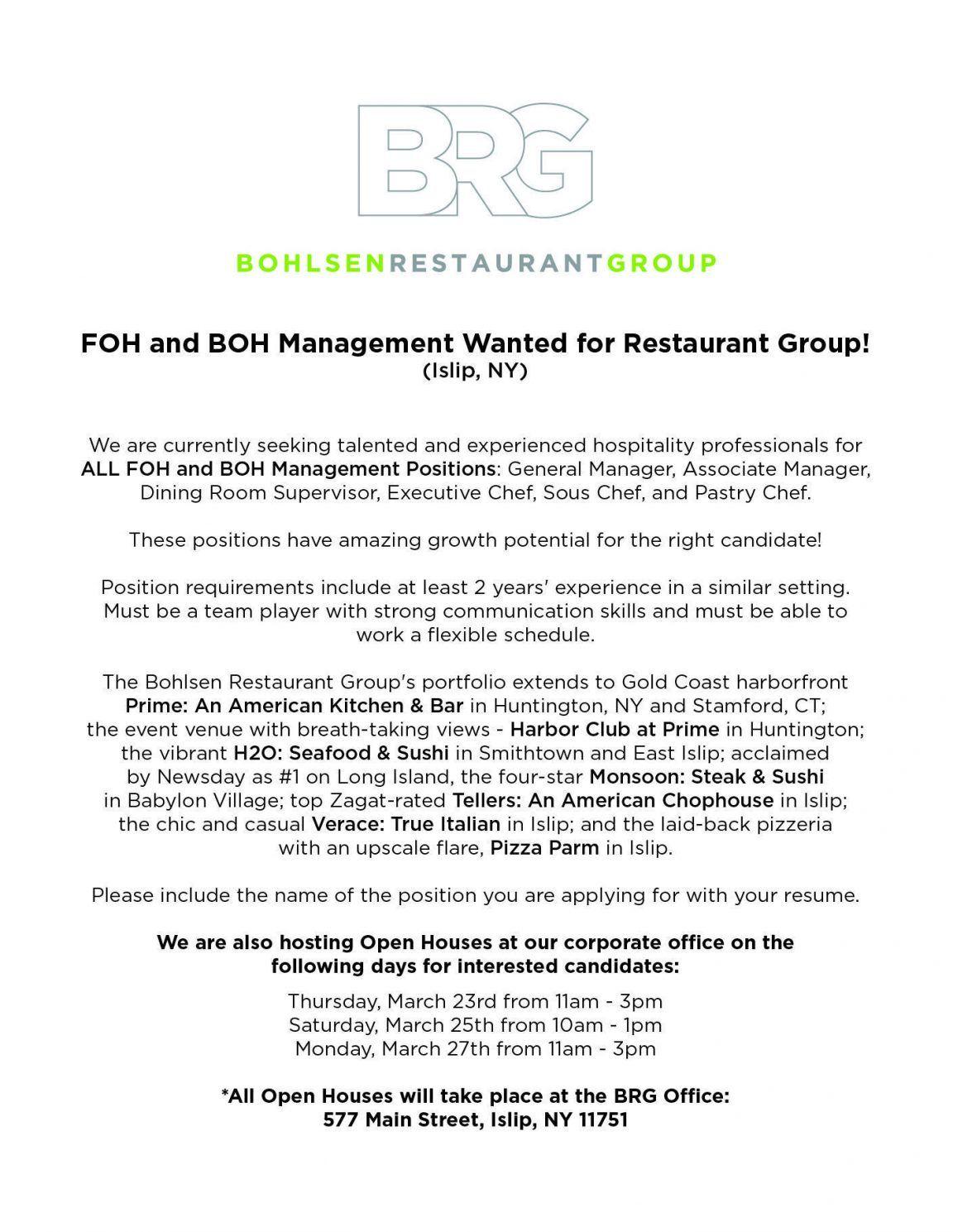 foh manager resume exles front of house cv exle restaurant sle ...