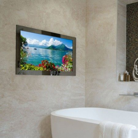 19 Waterproof Bathroom Mirror Tv With Images Tv In Bathroom Mirror Tv Diy Bathroom Remodel