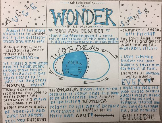 One Pager Example Novels Middle School Reading Reading Projects