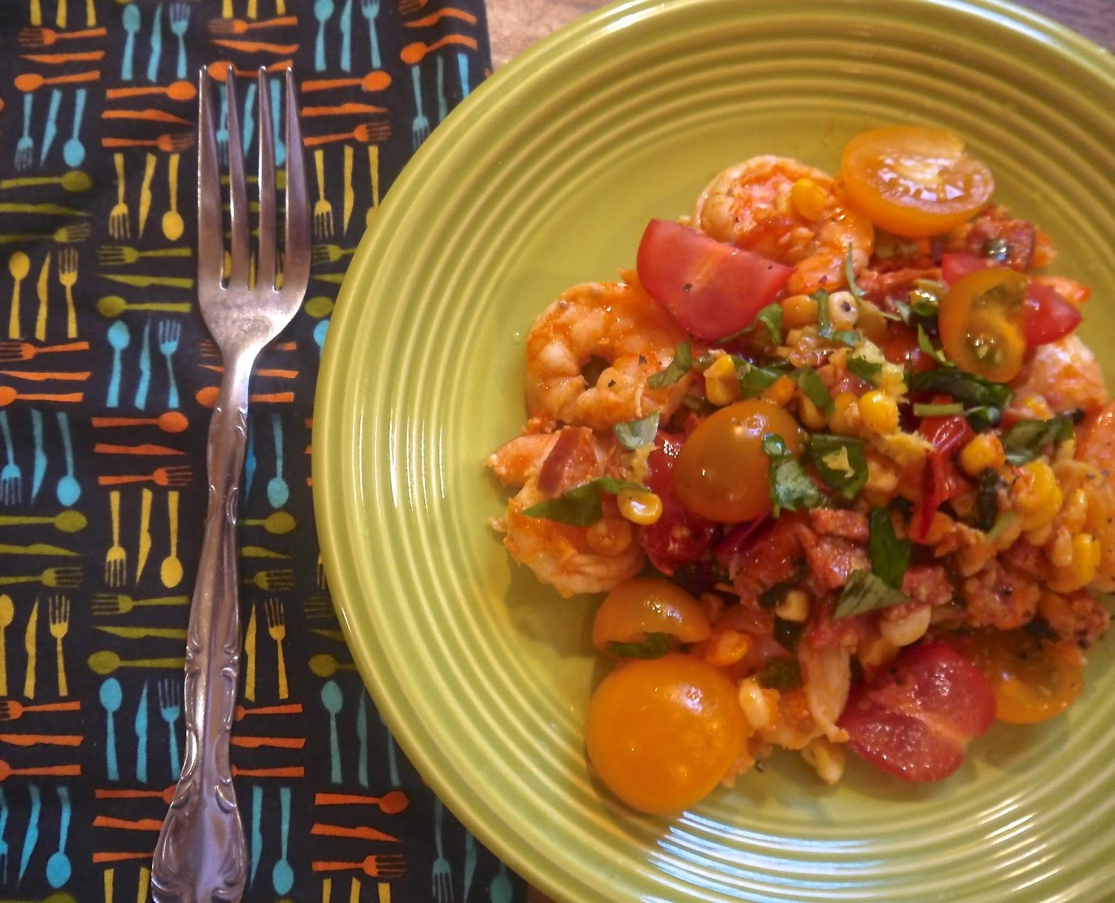 Summer Shrimp Salad  @Matty Chuah Preppy Paleo