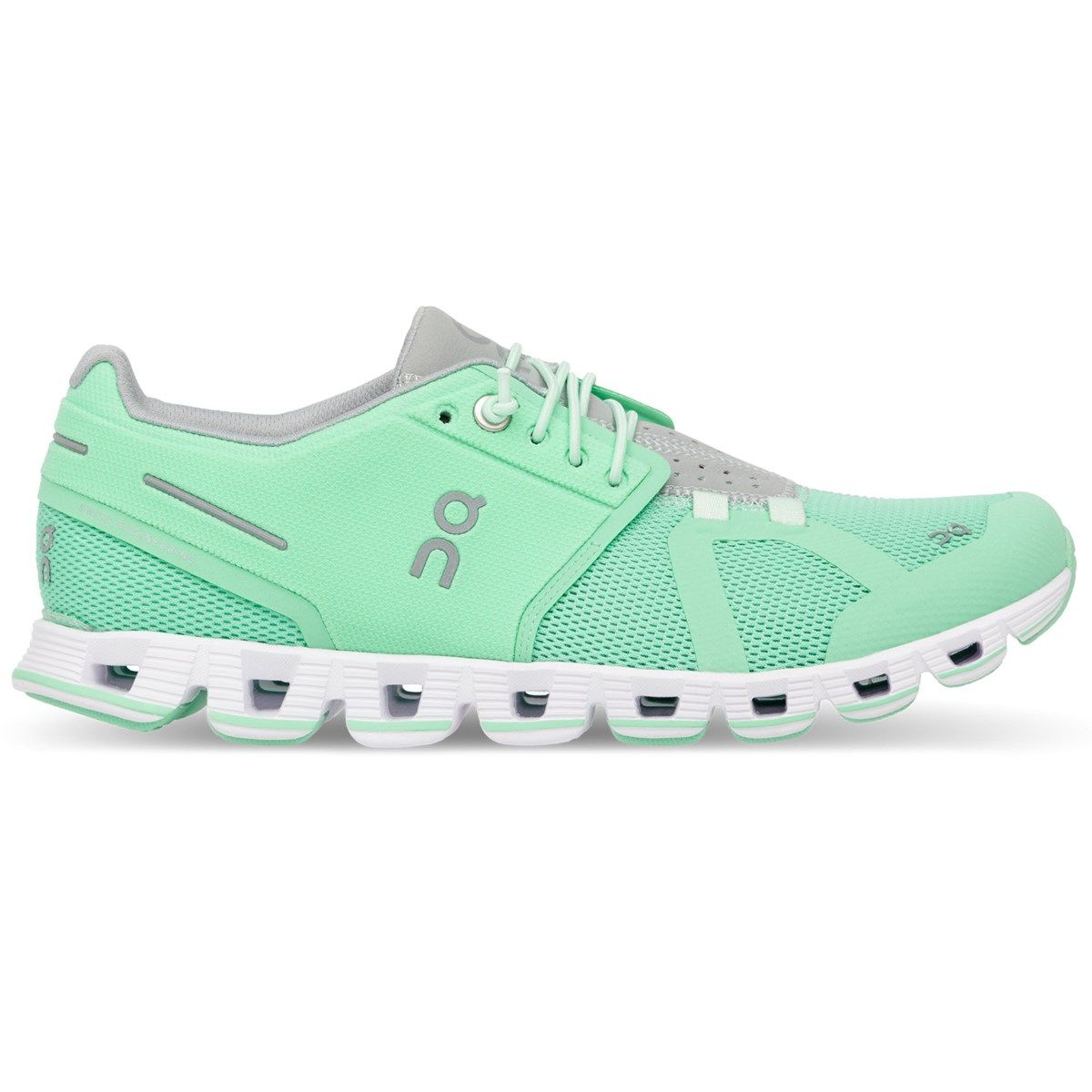 Photo of On Women's Cloud Running Shoes, Mint