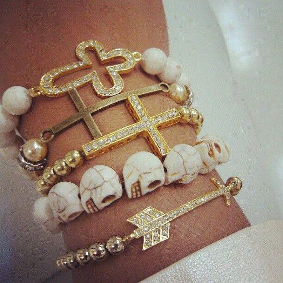 STYLING TIP ONLY KiKi-Jabri Jewels Bracelets by KiKiJabriJewels