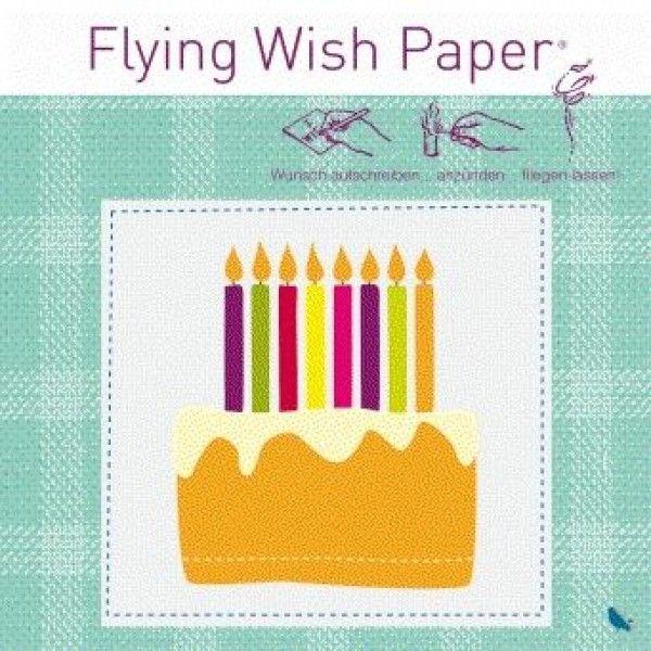 Wunsch-Papier Geburtstag