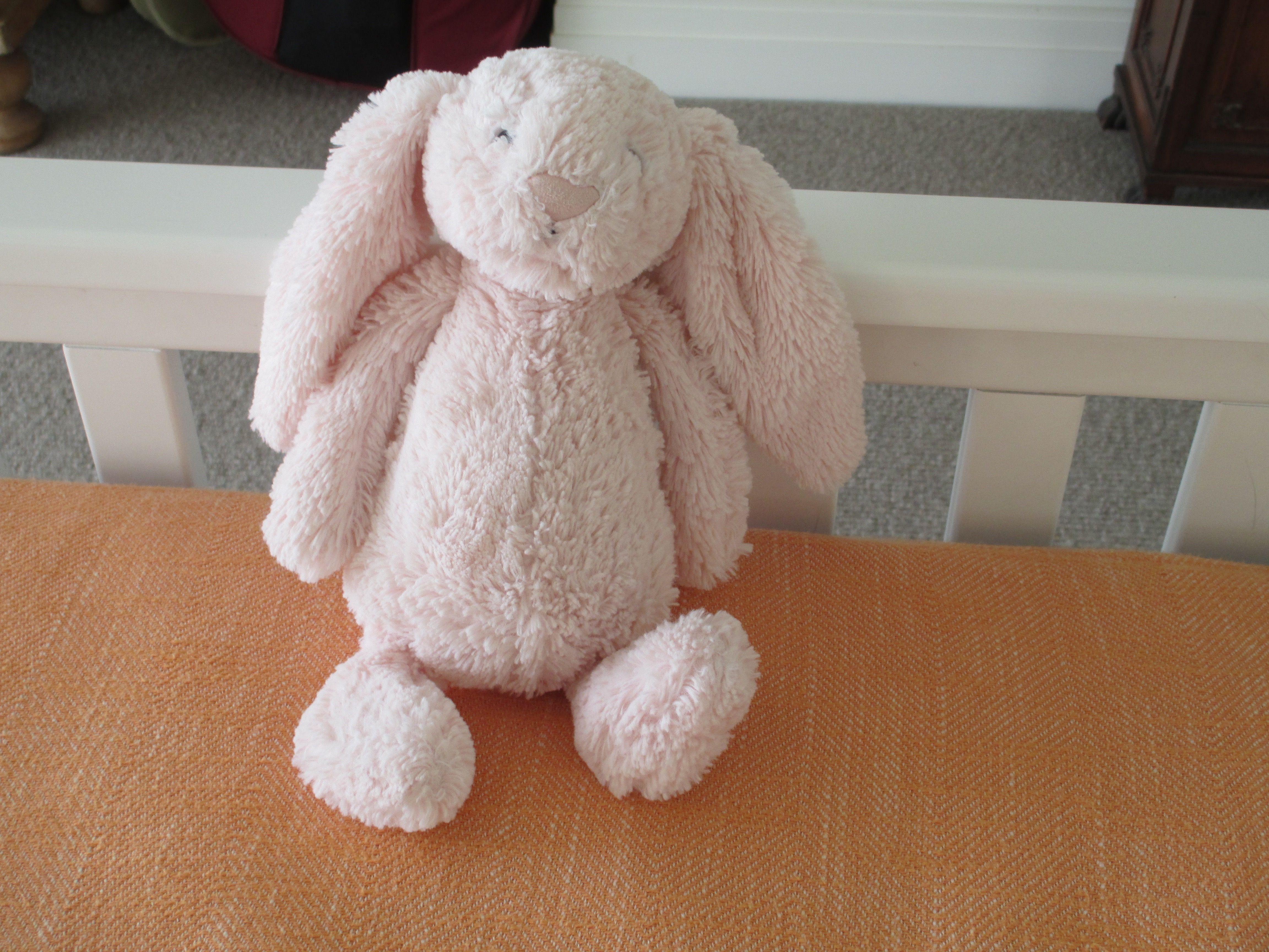 JellyCat Bashful Bunny Pink Medium | Jellycat, Teddy bear ...