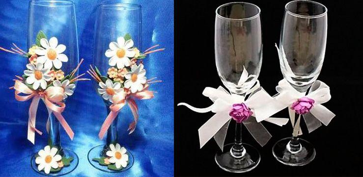 Cool como decorar copas para boda ideas utiles bodas - Como decorar para una boda ...