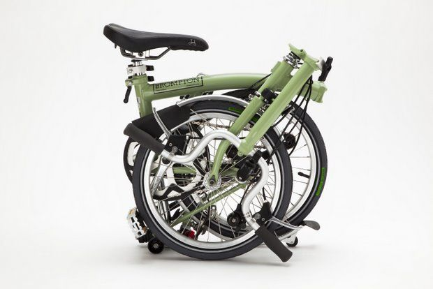 Brompton folding bike, design by Andrew Ritchie
