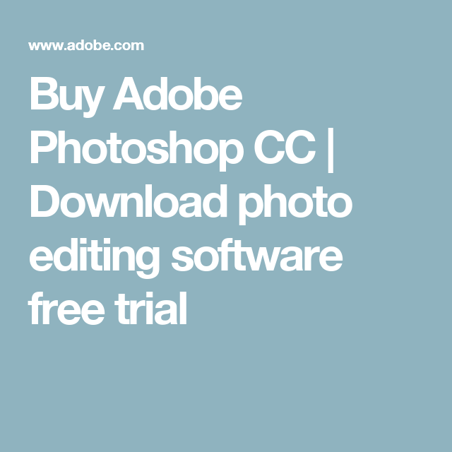 Adobe Images Free Trial