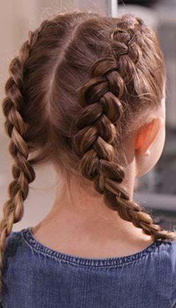 25 idées de coiffures pour la rentrée de votre fille | idée