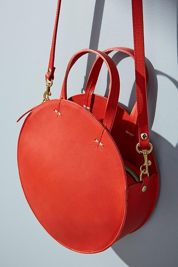 Claire V Alistair Circular Crossbody Bag