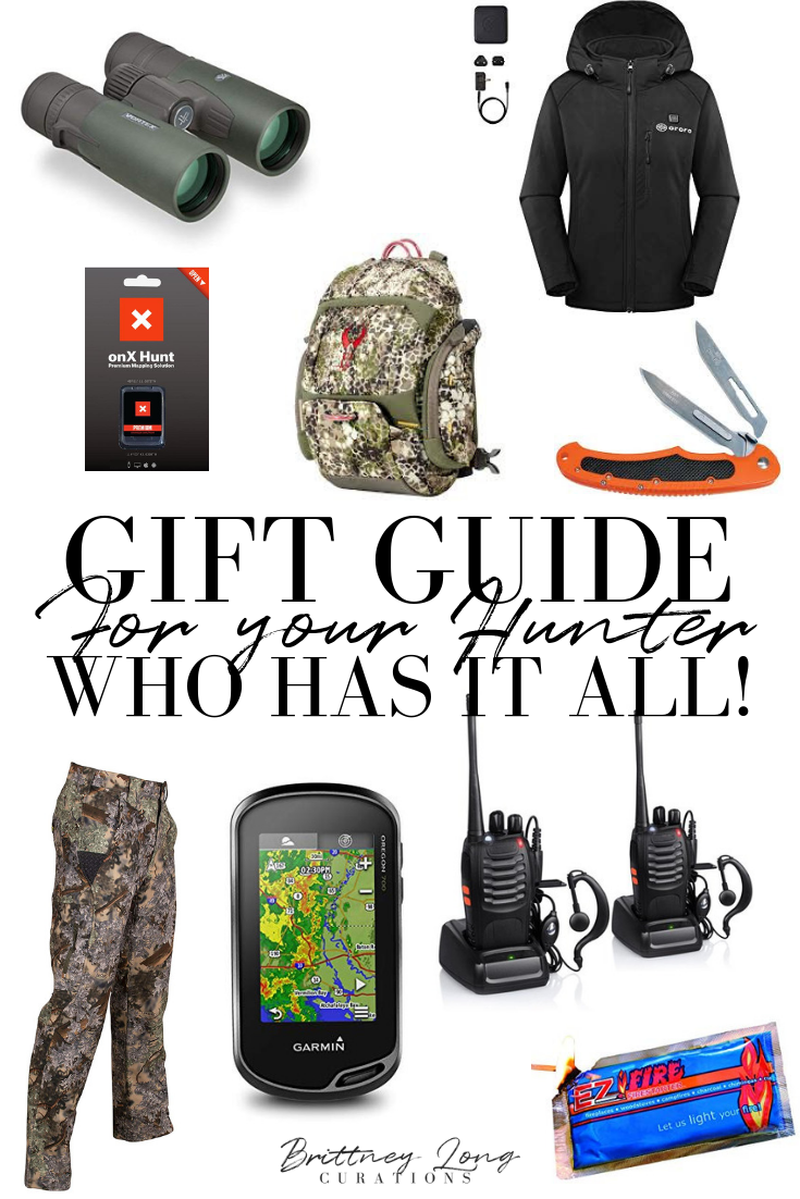 Gift Guide For Your Hunter Or Outdoors Man Grit Grace With Brittney Long Gifts For Hunters Hunter Gifts Men Christmas Gifts For Men