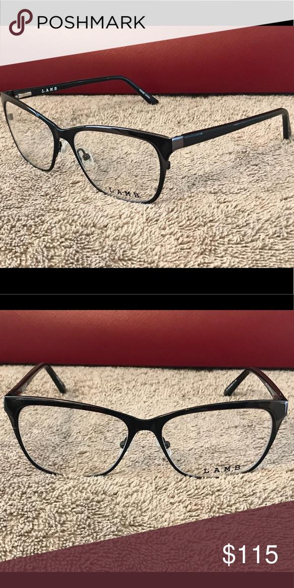 38c0bbf7374 Authentic L.A.M.B. Eyeglass Frames Black L.A.M.B. Accessories Glasses