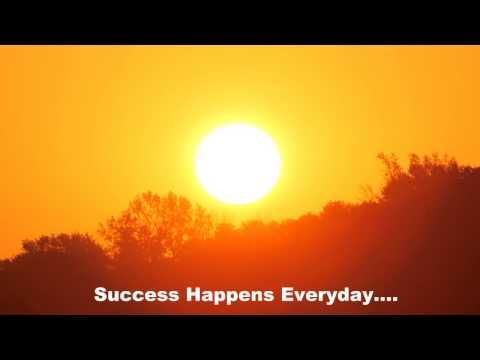 Get up Crafter! #riseupandshine Rise & Shine - Fun Motivational Photo Thoughts - Success Happens Everyday.... - YouTube