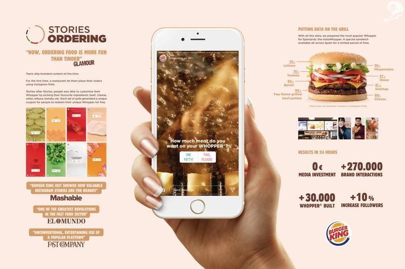 Presentation Image Burger King Healthcare Advertising Advertising Awards