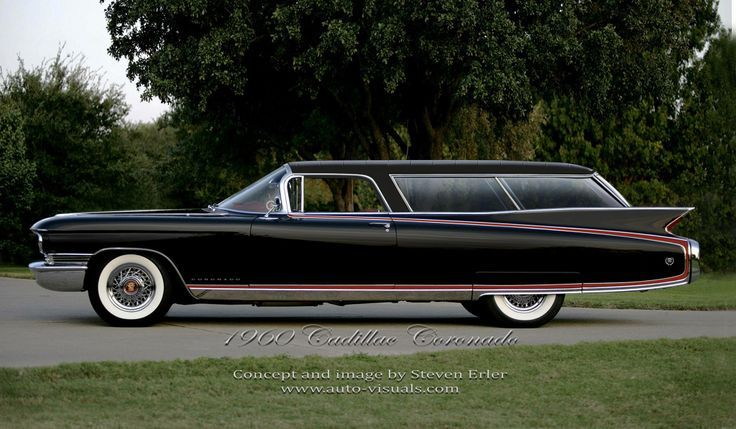 1960 Cadillac Eldorado Station Wagon Cadillac Wagon Pinterest