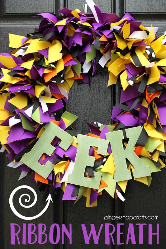Photo of DIY Ribbon Wreath {tutorial}
