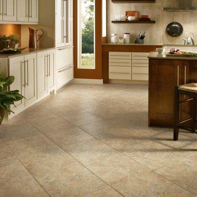 Armstrong Flooring Alterna Durango 12 X 24 Engineered Stone Field Tile In 2020 Vinyl Flooring Kitchen Kitchen Flooring Options Luxury Vinyl Flooring
