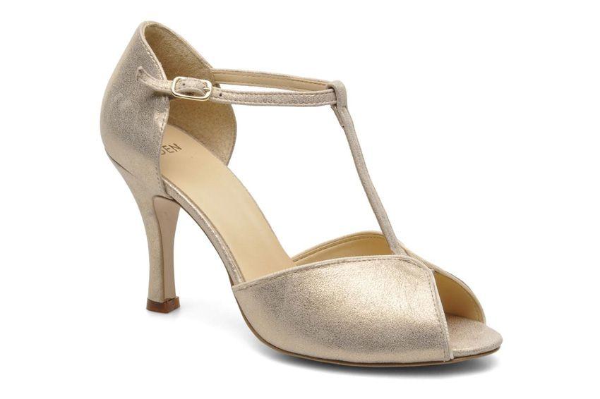 0d0c30beef2 Chaussures dorées mariage l Salomes Eowin Eden l La Fiancée du Panda blog  Mariage et Lifestyle