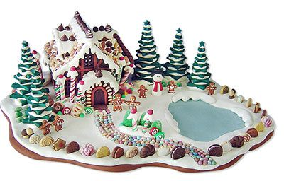 Sahl's polymer clay gingerbread houses – Polymer C