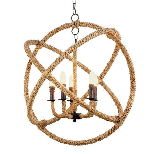 Foyer Art Vif Bienne : Rope twist saturn chandelier caron s beach house la