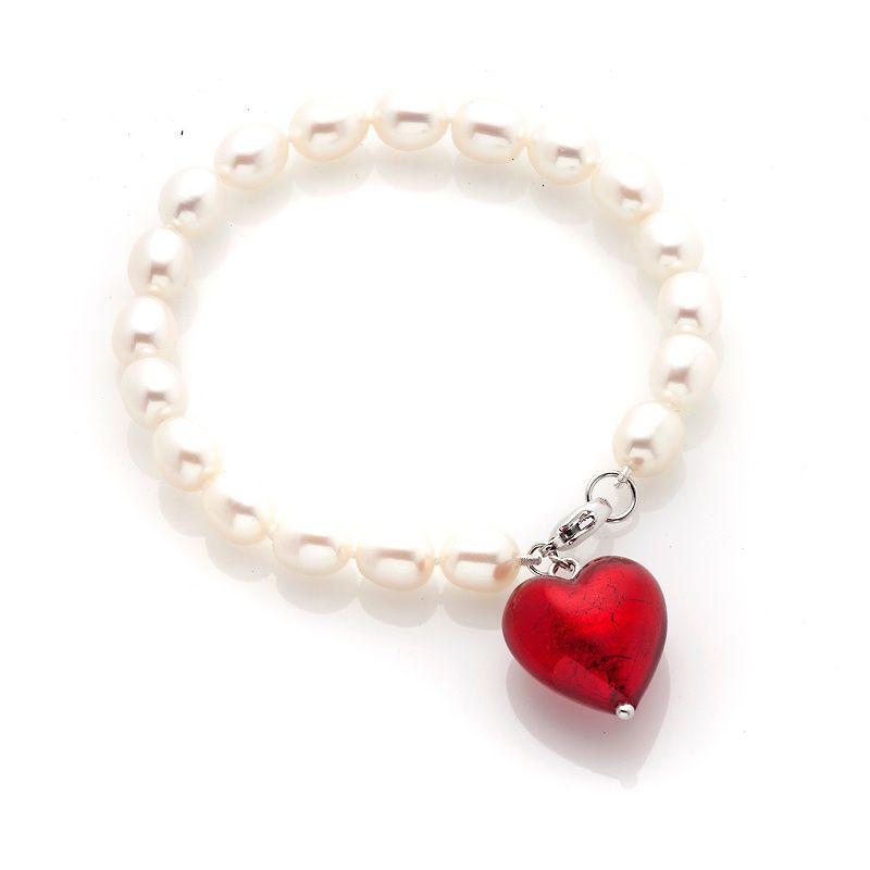 "Imperial Pearls Cultured Pearl""Heart""Bracelet"